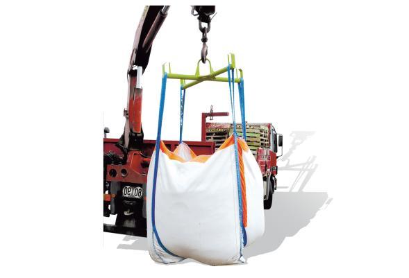 Palonnier support big-bag en croix prise grue - Accessoires