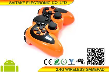 2.4G Wireless Gamepad for Android TV Box/PS3/PC - STK-WL2026U