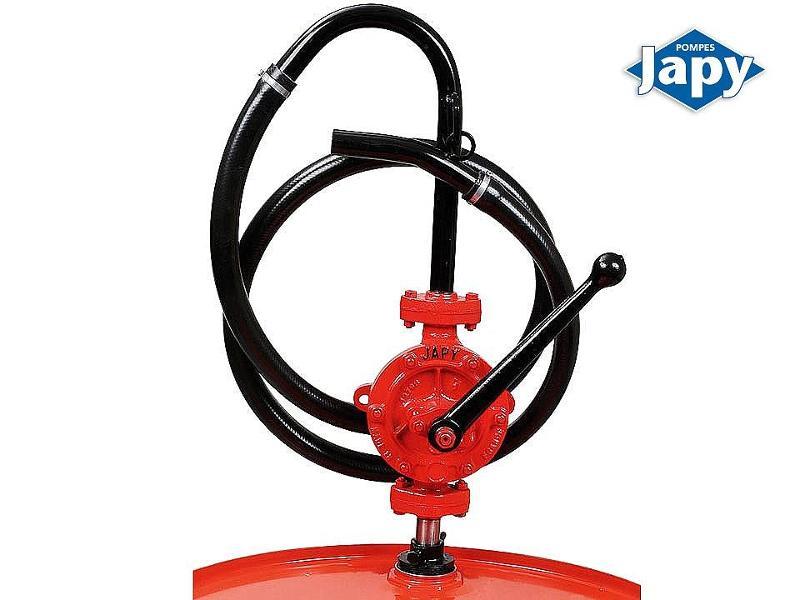 Pompe manuelle équipée en transvaseur de fûts - FEP0 - FEP1 - FEP2 - FEP3 et FEP - null