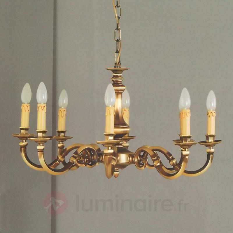 Lustre IMKE en laiton, 6 lumières - Lustres classiques,antiques
