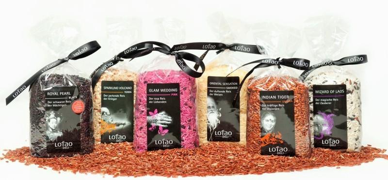 Gourmet Reis Set, Bio-Reis