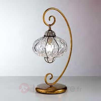 Lampe à poser SULTANO fabriquée à la main - Lampes à poser classiques, antiques