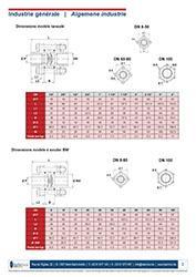 Clapet anti-retour à disque Inox - 380 - Robinetterie