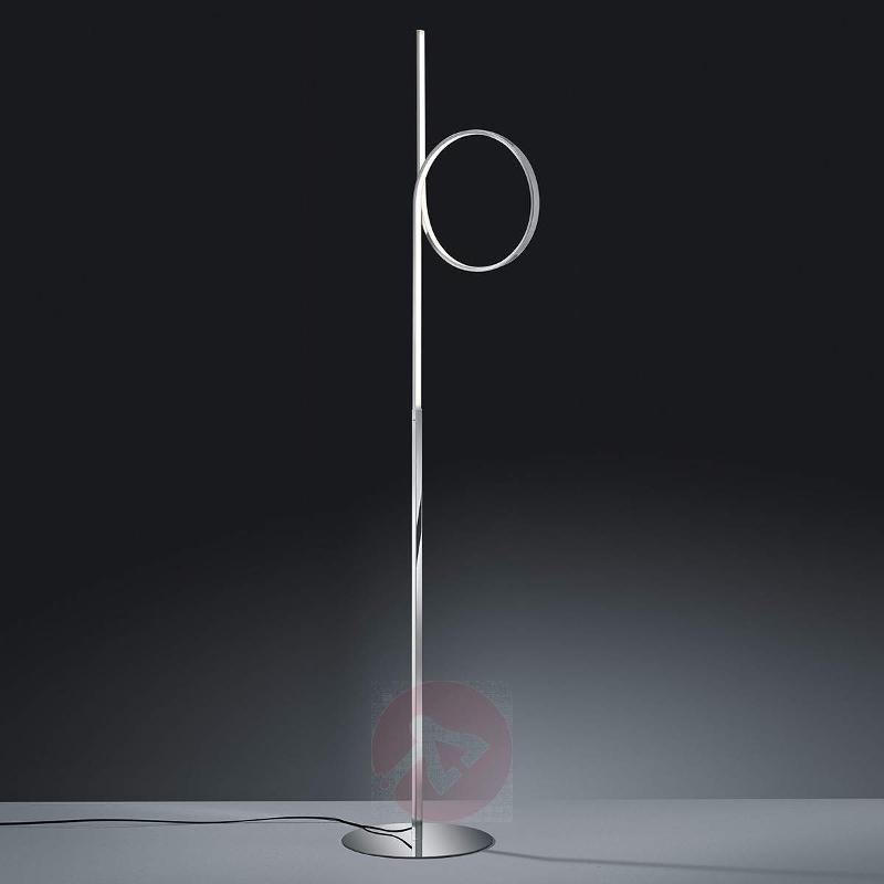 Loop-shaped Catoki LED-floor lamp - Floor Lamps