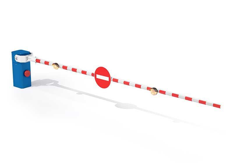 Barrière coupure voie LBA 12 - Barrière industrie et coupure de voie
