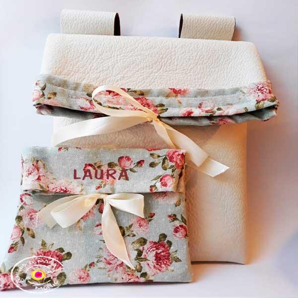 Bolso para cochecito de bebe-Personalizado. - una bolsa , exclusiva , dulce acompañada de un neceser que se puede personalizar