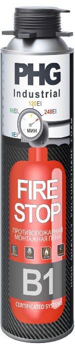 PHG Firestop B1 PUfoam -  Огнестойкая профессиональная монтажная пена PHG