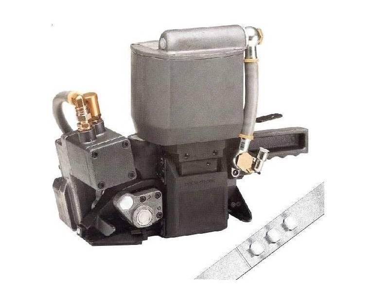 Appareil feuillard acier pneumatique A 380 - Cerclage Acier