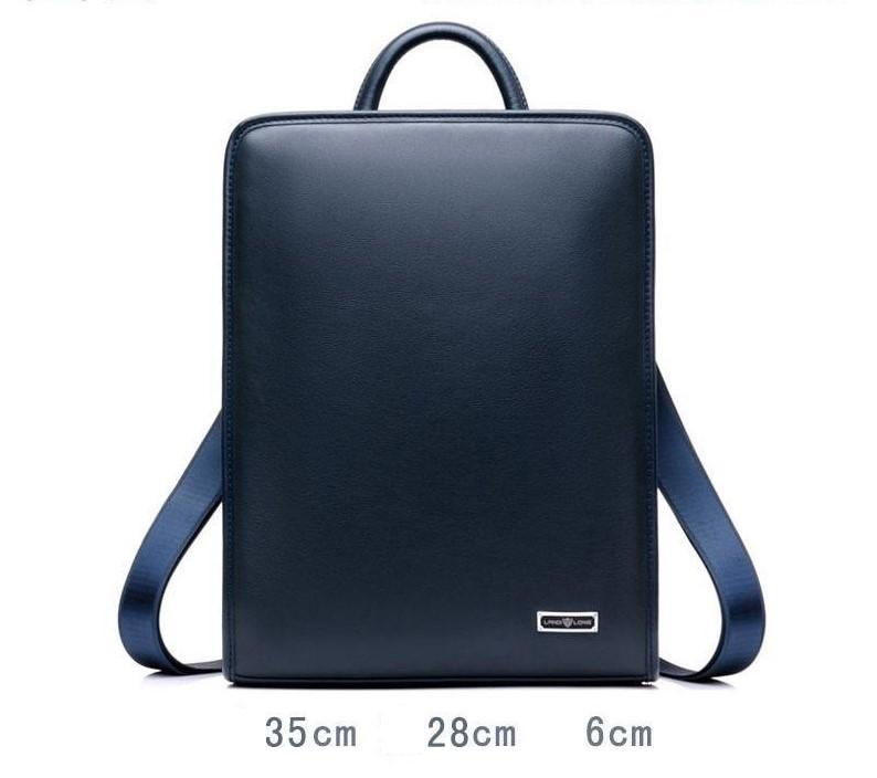 sac à dos en cuir - sac d'ordinateur portable en cuir