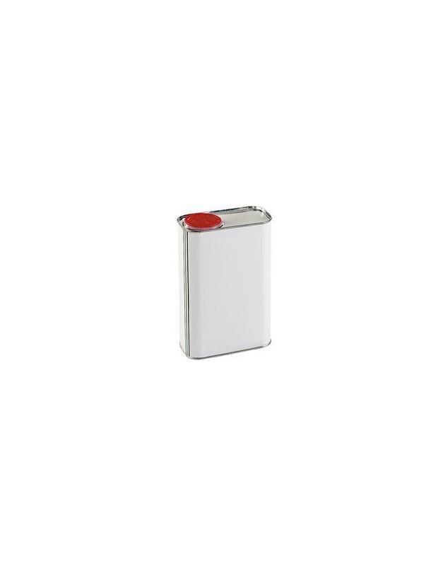 BIDON METALLIQUE 1L + BOUCHON ROUGE - SEAUX, BIDONS, BOITES