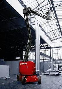 Nacelle  à bras articulé Manitou - Location Machine -  150 AET -