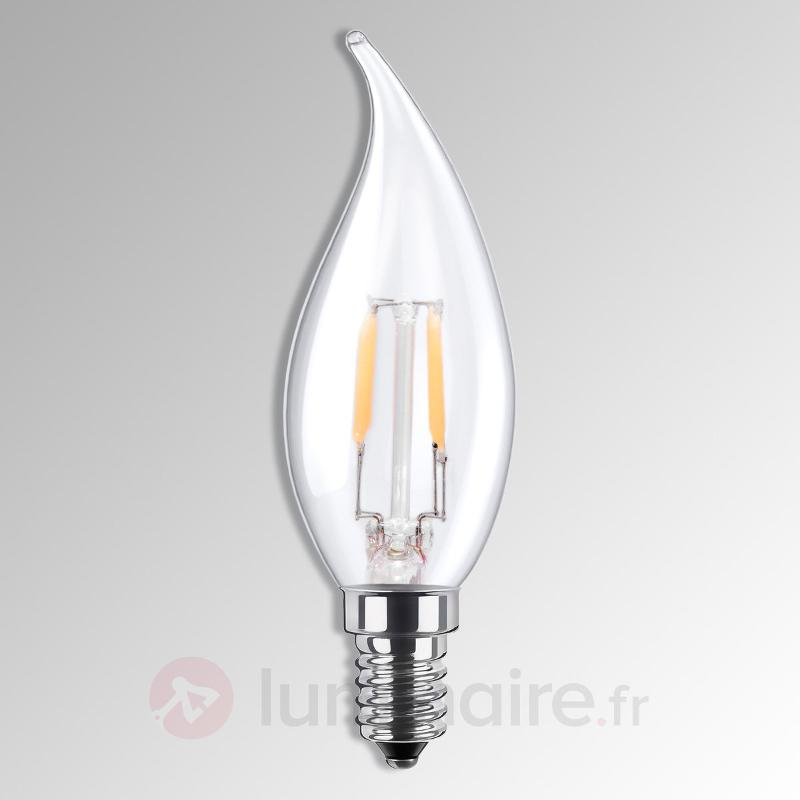 Ampoule flamme LED E14 3,5W 926 à filament - Ampoules LED E14