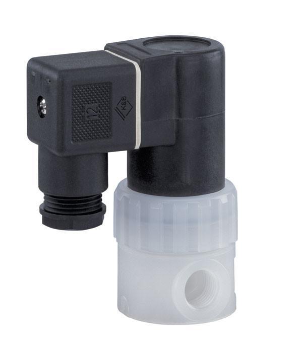 盖米52 - 盖米52是一款直接控制的两位两通电磁阀,带有完全塑料封装的线圈,电枢由PTFE材质的波纹管密封。