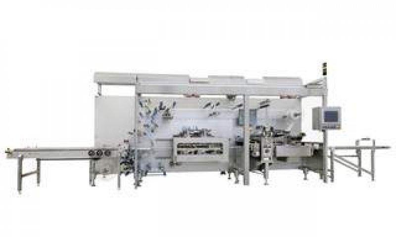 4 Side Seal Platen Packaging Machine OPTIMA CPS - 4 Side Seal Platen Packaging Machine OPTIMA CPS: Medical and diagnostic devices