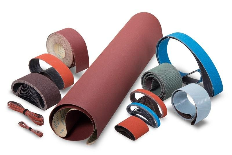 Coated Abrasives: Belts and Rolls -
