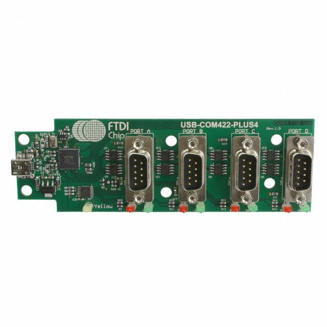 MOD USB HS RS422 CONVERTER 4 CH - FTDI, Future Technology Devices International Ltd USB-COM422-PLUS4