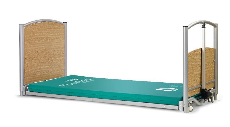 Pflegebett Floor Bed, Maße: 90 x 200 cm - Niedrigbetten