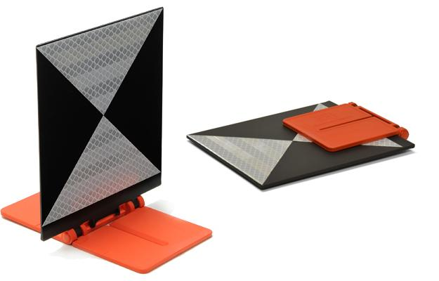 Target with foldable base  - RSLT10