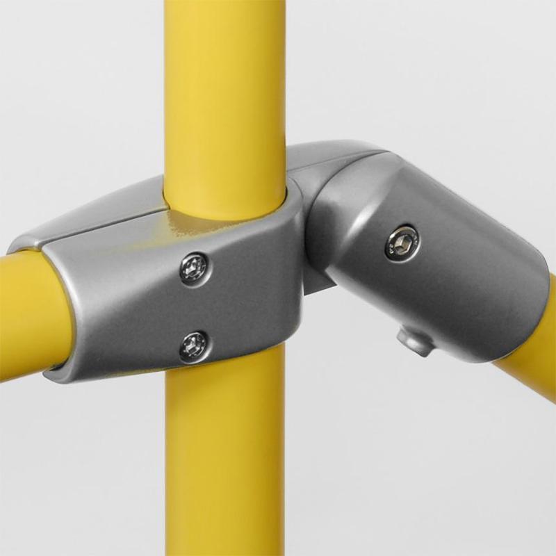 Universal tube connectors - Cross Connector, flexible Nr. 50 flexibel
