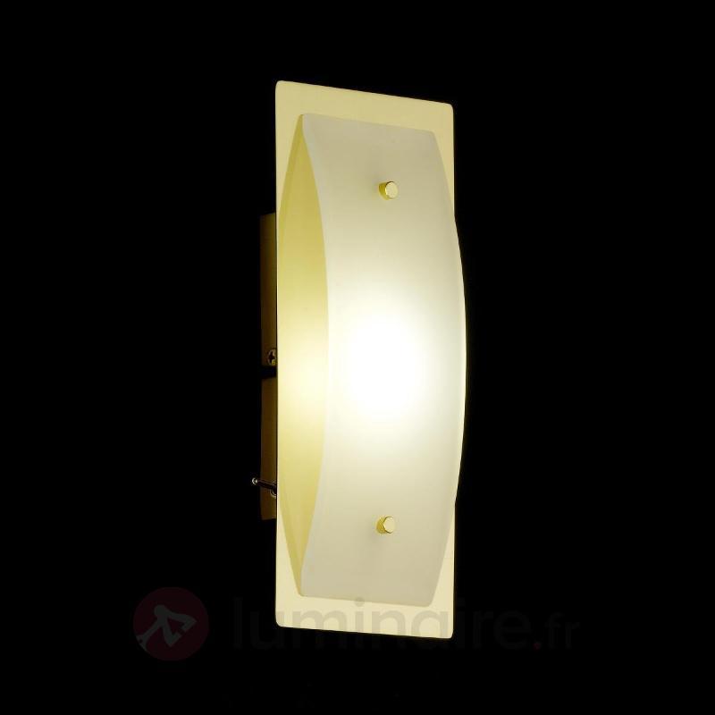 Applique LED Liana, laiton, à une lampe - Appliques LED
