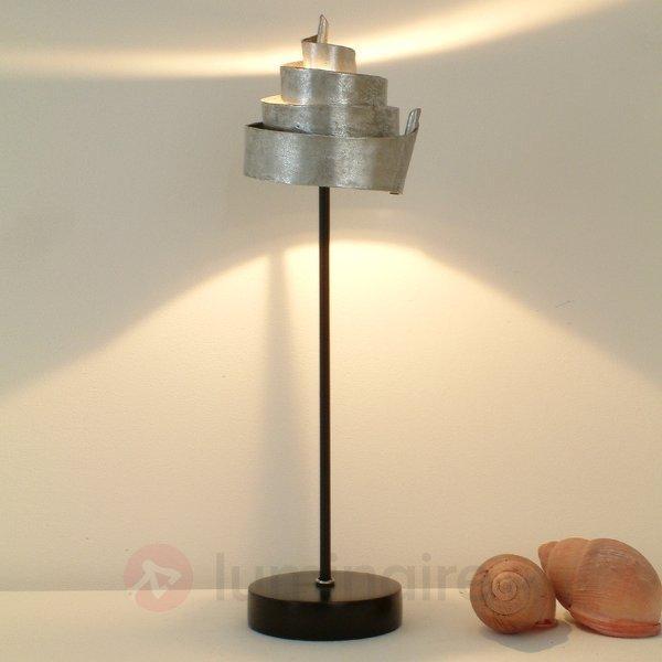 Jolie lampe à poser BANDEROLE SILBER, fer - Lampes à poser pour rebord de fenêtre