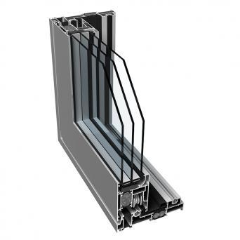 Sliding 1600ttt HI - Aluminiumfenster