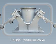 Double pendelum valves - Bulk Material Handling