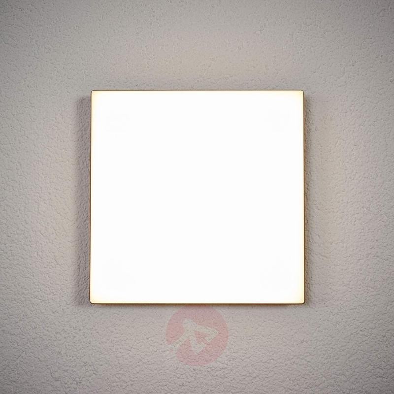 Sensor-controlled outdoor ceiling lamp Henni, LEDs - outdoor-led-lights