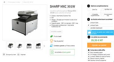 Acheter imprimante professionnelle - 3 fois sans frais