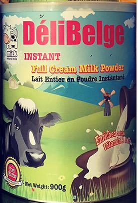 DeliBelge Full Cream Milk Powder-Instant