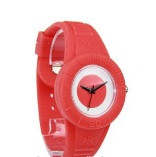 kids watches with silicone materials for lovely children - Fashion Style Japan Movt Silicone Boy And Girl England Watches