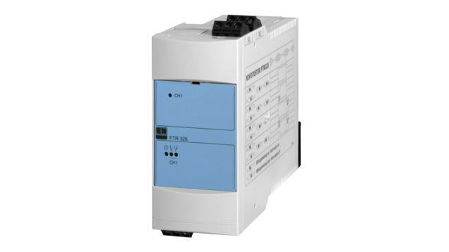 mesure detection niveau - amplificateur separateur nivotester FTR325
