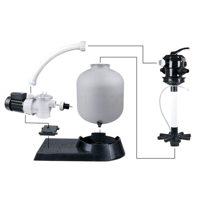 Accessoires PISCINES - Pool Filter SET 600 avec pompe 13 m3/h
