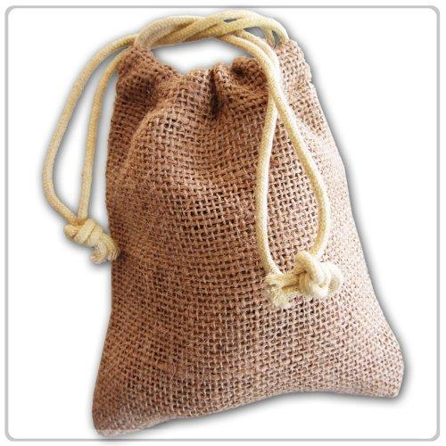 Wholesale Burlap Drawstring Bags - Wholesale Burlap Drawstring Bags, Printed Jute Pouch, Hessian Gift Bag