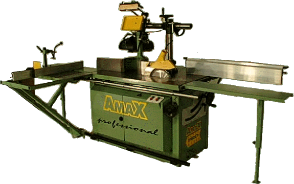 AMAX 3100 - 4100 Toupie - Scie - null