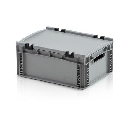 Euro containers with lid - Euro container with lid 40x30x17 cm