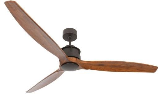CASA BRUNO Akmani DC-ventilador de techo Ø 152 cm, bronce an