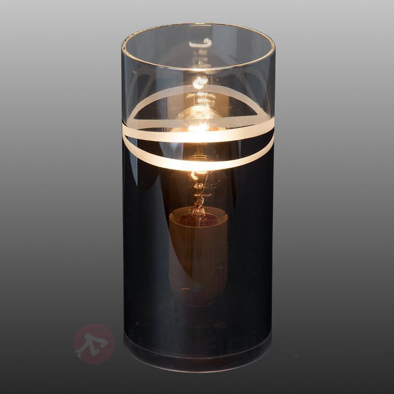 Lampe à poser cylindrique Carlow - Toutes les lampes à poser