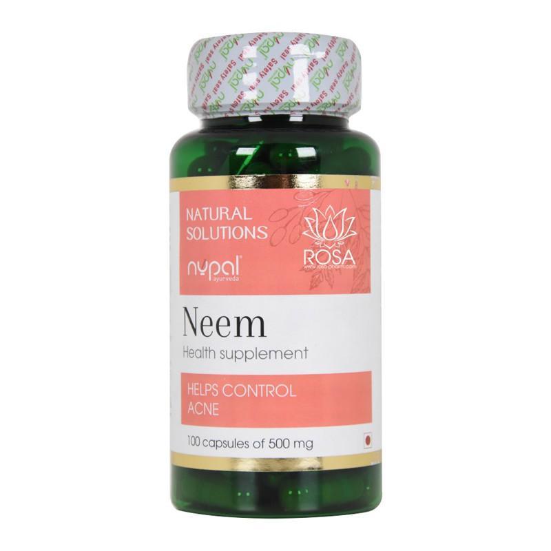 Ним (Neem Capsules, Nupal) - Антисептик для кожи, ускоряет регенерацию, очищает кровь