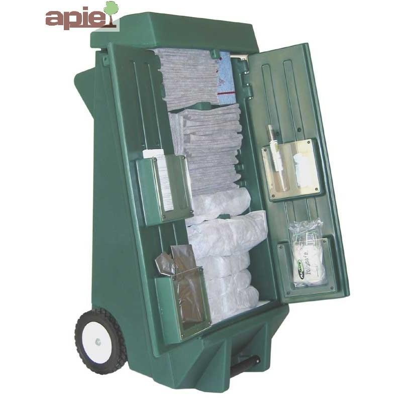 Chariot Kit anti-pollution 100 L tous liquides - Référence : KIT.100L/TL/CHARIOT