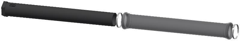 Membran-Rohrbelüfter 1.000 mm Polyurethan - null