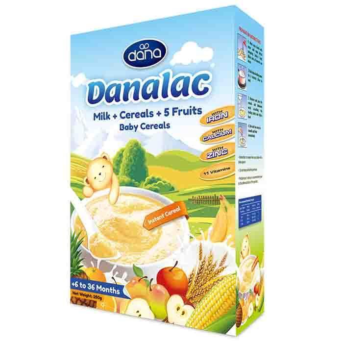Cereales infantiles DANALAC - alimentos para la nutrición - DANALAC aporta todos los nutrientes y vitaminas necesarios para el crecimiento