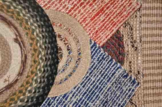 Jute & Cotton Rugs - Rugs & Carpets are made of 100% Jute and 100% Cotton.