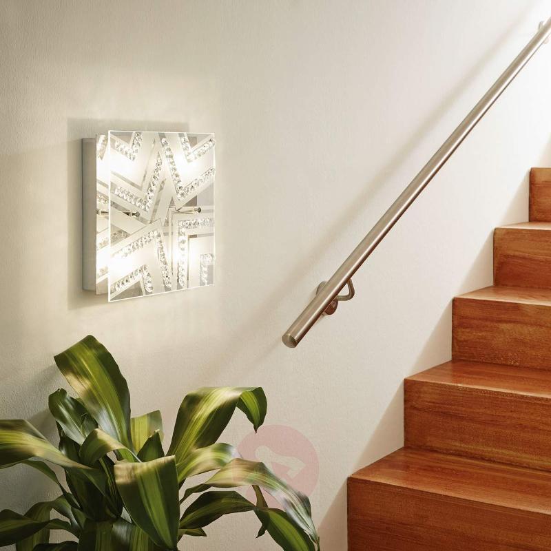 Tibor Crystal LED Ceiling Lamp - Ceiling Lights