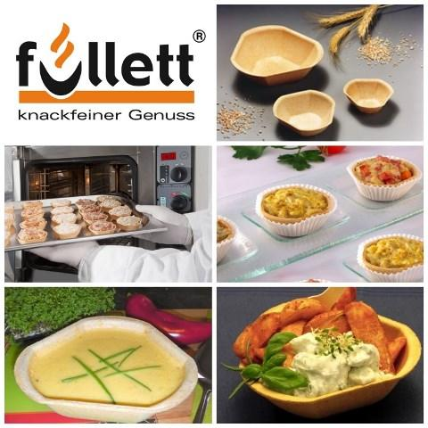 Füllett, knusprige Cups für Caterings aller Art