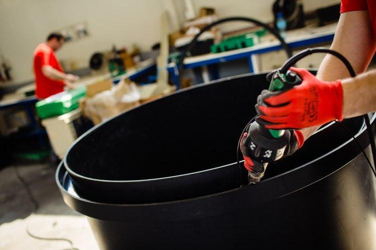Kunststoff CNC-Fräsen, Kunststoffschweißen - Materialien, die wir verwenden: Polypropylen, Polyethylen, PVC, PCV usw.