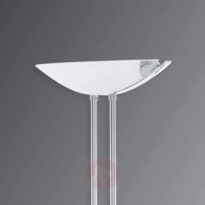 Baya - chrome-plated LED uplighter/reading light - Floor Lamps