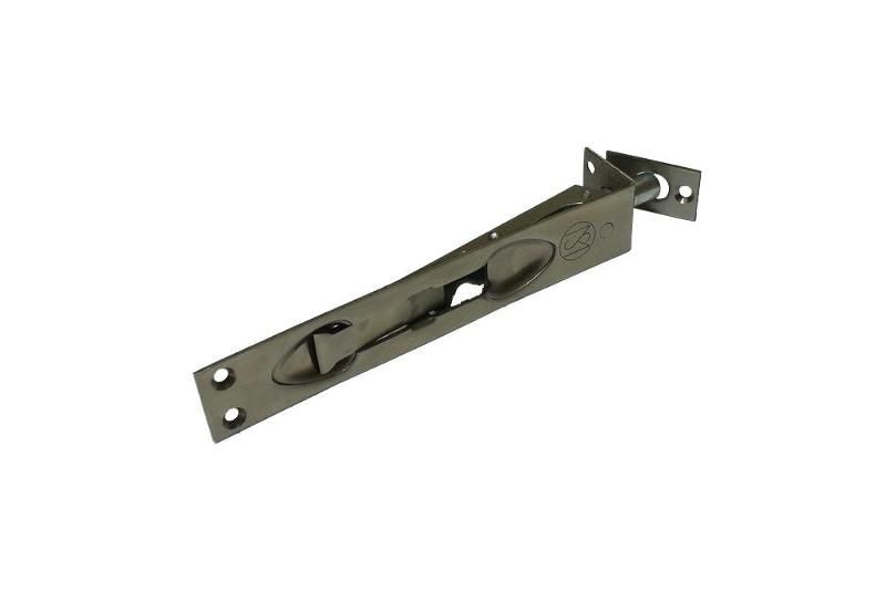 Flush bolts 150 mm inox[ZC 150 mm] - Furniture and hinges