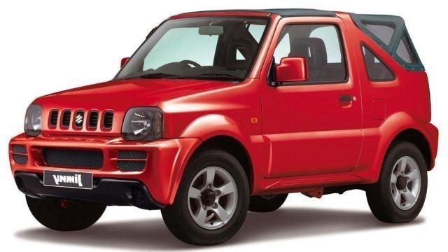 Suzuki Jymni 4X4 - 1300cc - Двери 3
