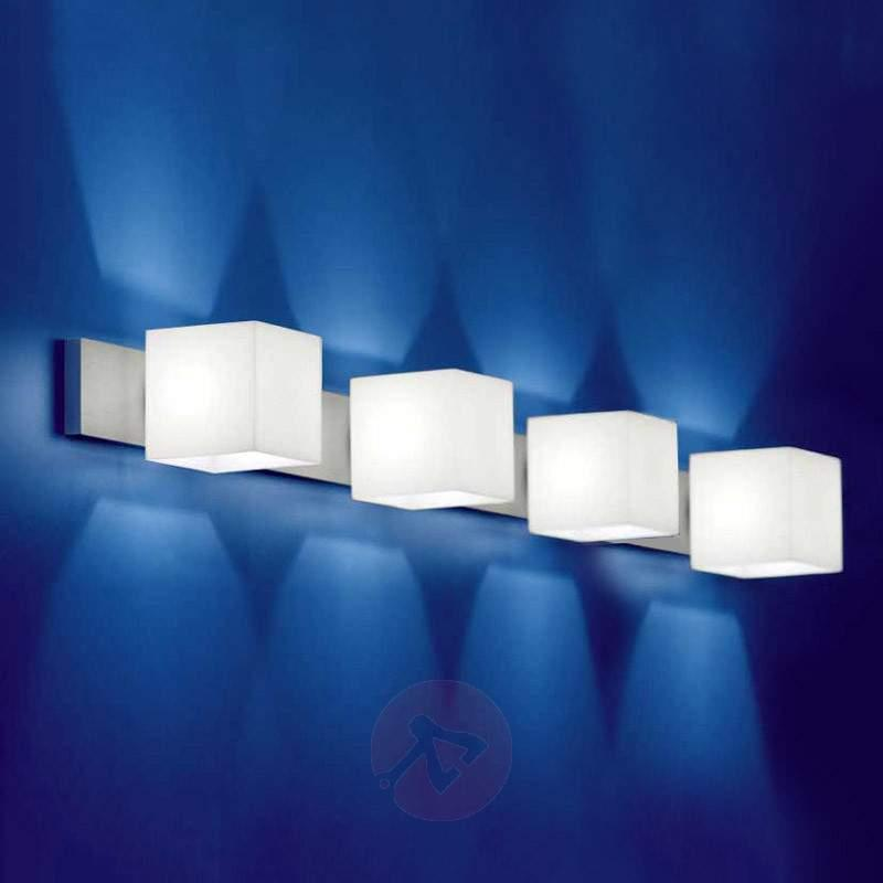 Wall light CUBE with no-glare cylinder - Wall Lights